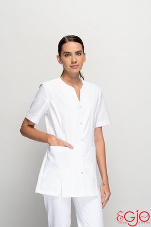 Fartuch damski 001 biały Egjo