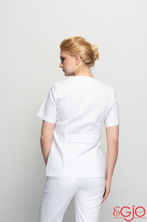 Fartuch- damski 005 biały Egjo