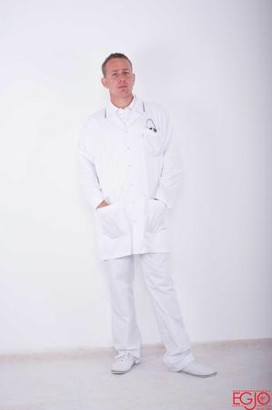 Bluza męska 007 biały Egjo