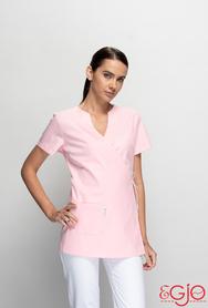 Bluza damska 012 jasnoróżowy Egjo