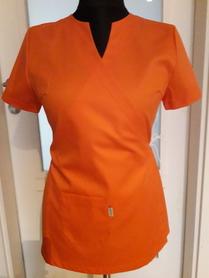Fartuch damski 017 Pomarańczowy